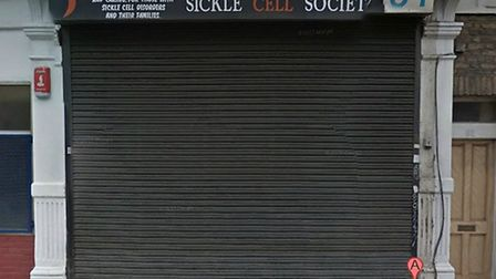 Kye Gbangbola is the chair of the Sickle Cell Society in Harlesden (Pic credit: google streetview)