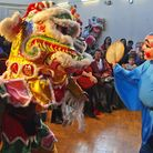 The Chinese New Year at the centre in Hatchard Road, Holloway
