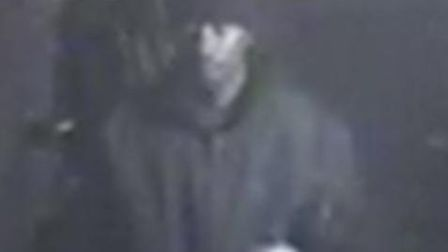 Police would like to speak to this man in connection with arson attack