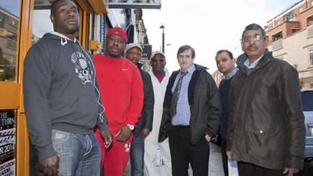 """Willesden High Road traders claim the cameras have had a """"drastic"""" impact on their businesses (pic c"""