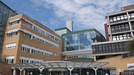 Whittington Hospital. Picture: Nigel Sutton