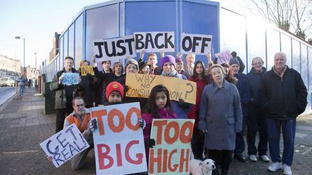 Residents had opposed the plans in Harlesden (Pic credit: Jan Nevill)