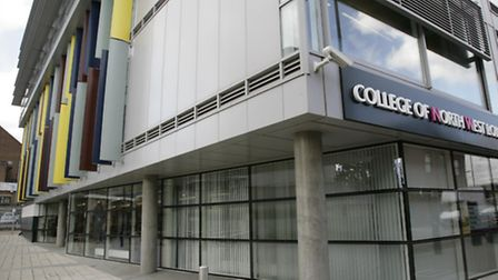 Dumped: The award winning college campus in Kilburn is being sold by college bosses