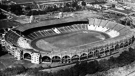 Sir Elvin helped create the old Wembley Stadium (pic credit: PA)