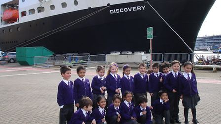 Pupils from ARK Franklin Primary Academy enjoyed a trip to Southampton to commemorate Ocean and Eart