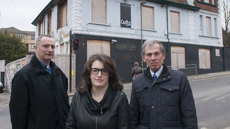 Left to right: Lib Dem council candidates for Childs Hill, Jonathan Davies and Charlotte Henry, with