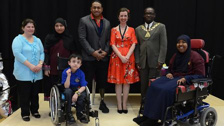 Former soldier turned paralympian, Derek Derenalagi, officially opened the multi-million pound const