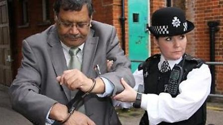 Navin Shah will be locked for charity