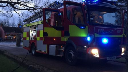 An arson investigation has been launched after a shelter at Nicholas Everitt Park in Oulton Broad wa
