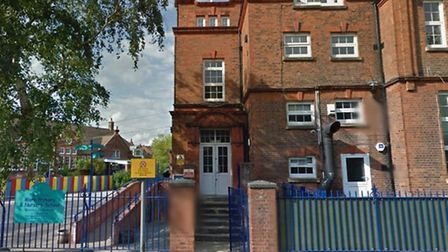 Mora Primary School is in Cricklewood (pic credit: Google streetview)