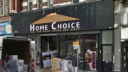 The owners of Home Choice in Harlesden have been found guilty of fly-tipping (Pic credit: Google str