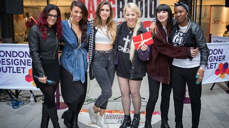 Girl group Xyra are the winners of the London Designer Outlet Music Talent Search