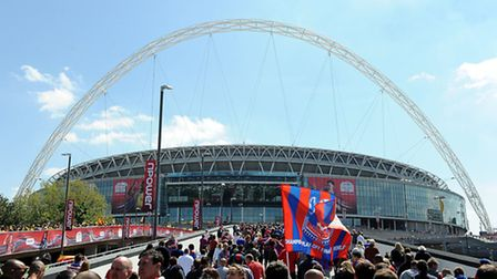 A dispersal zone will be rolled out for the FA Cup semi-finals this weekend (pic credit:PA)