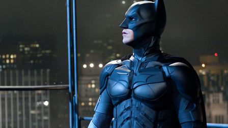 "CHRISTIAN BALE as Batman in Warner Bros. Pictures' and Legendary Pictures' action thriller ""THE DARK"