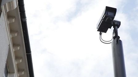 This CCTV camera in Willesden High Road is also being used to issue parking tickets (pic credit: Jan