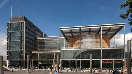 Brent Civic Centre won the the best corporate workplace catergory at the British Council for Offices