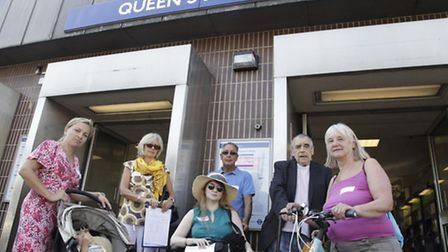 Members of Queens Park Area Residents' Association had petitioned for a lift at Queens Park station.