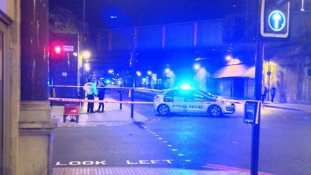 Attack in Seven Sisters Road