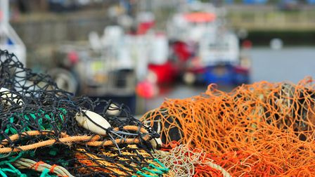 Lowestoft fishing boats in the harbour. PHOTO: Nick Butcher