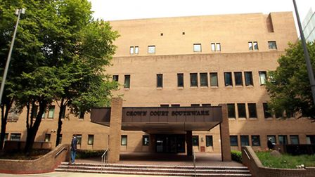 General views of Southwark Crown Court in south London.