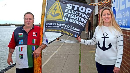 June Mummery has campaigned for the fishing industry for a number of years. Picture: Mick Howes