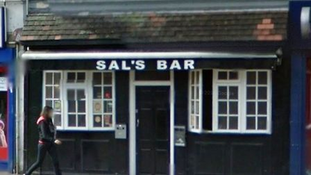 The attact took place at Sals Bar in Neasden (pic credit: Google streetview)