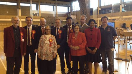 Victorious Labour councillors in Islington