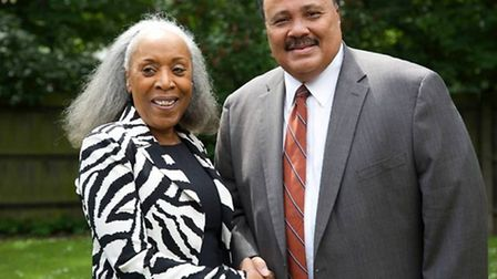Martin Luther King III helped Dr Yvonne Thompson CBE launch her women's business network 18 years ag