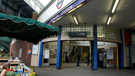 The Jubilee Line is currently part suspended after a person fell onto the tracks at Kilburn station