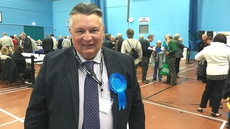 Former WDC leader Mark Bee lost his seat in Beccles and Worlingham. Picture: Thomas Chapman