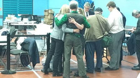 It was a good day for the Green Party as the Conservatives assumed overall control of the new East S