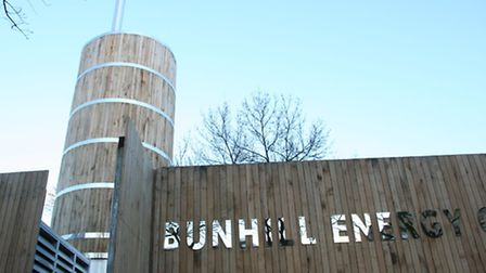 Bunhill Energy Centre in Central Street, Finsbury