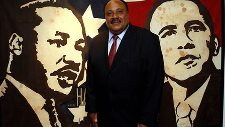 Martin Luther King III at the Liverpool Slavery Museum in 2012 (Pic credit: PA/Peter Bryne)