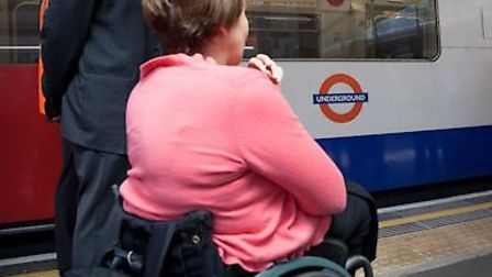 Accesibility for wheelchairs users at all three stations will be improved (pic credit: TfL)