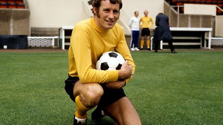 Terry Neill as player-manager of Hull City in 1971