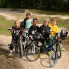 Children from nearby primary schools showcased their BMX skills at the launch event