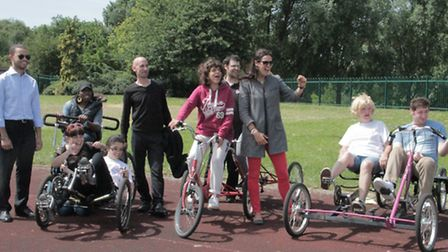 Hannah White meets disabled children getting fit in Finsbury Park