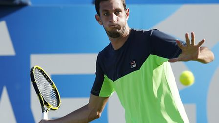 James Ward during the AEGON Championships at The Queen's Club