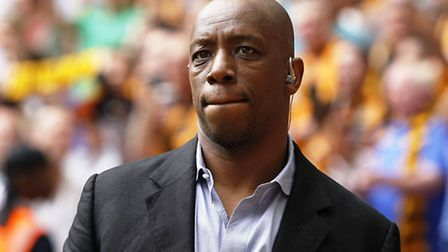 Ian Wright's family were targeted by armed robbers (Pic credit: PA)