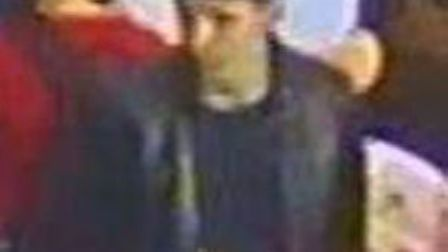 Detectives would like to speak to the two men pictured