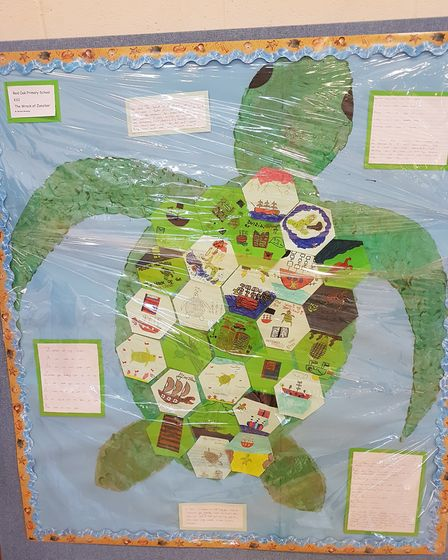 """Primary schools across Lowestoft teamed up to """"inspire a love of reading"""" among children as a readin"""