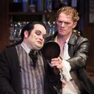 Review photos of PATIENCE at the King's Head Theatre David Phipps-Davis as Bunthorne and Henry