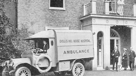 Dollis Hill House was used as a hospital during the First World War