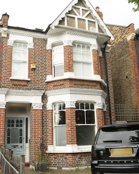Ian Wright's home in Kensal Rise (Pic credit: PA)