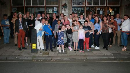 Friends of the late Ms Dillon attended the special fundraising event