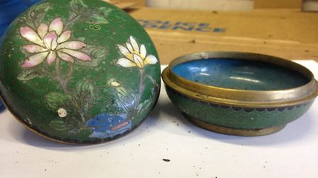 Police hope to trace the owner of this distictive china bowl