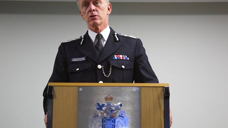 Sir Bernard Hogan-Howe, the Metropolitan Police Commissioner officially opened the new police base i