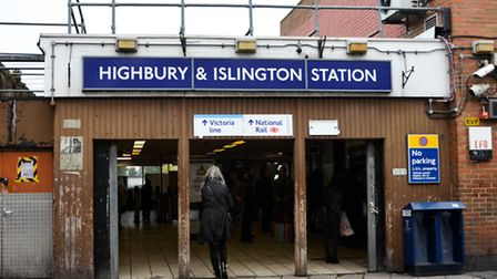 The woman was groped at Highbruy and Islington station Pic: Anna Bruce