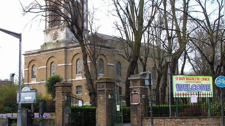 St Mary Magdalene in Holloway Road. Picture by John Keogh, www.jv21.com.