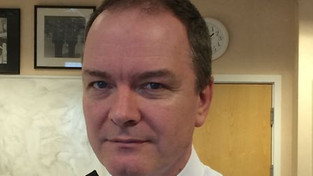 Chief Superintendent Michael Gallagher is the new borough commander